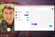 Google Allo for web Google Chrome