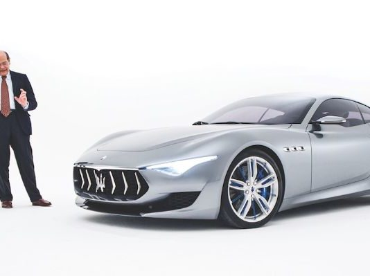 Maserati Alfieri concept car to go fully electric