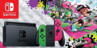 Nintendo Switch Splatoon 2 Bundle Walmart