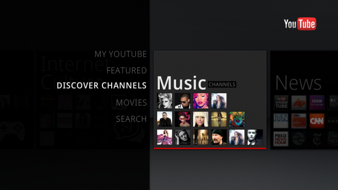 YouTube App for Android TV