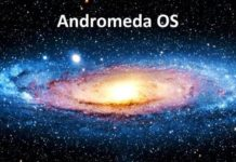 andromeda os windows 10 mobile