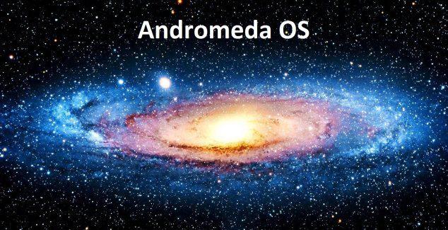 andromeda os windows 10 mobile