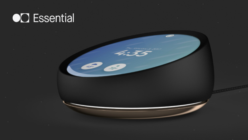 Essential Home Products essentially amazon: echo creator invests in andy rubin's essential