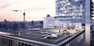 Lilium electric flying taxi service