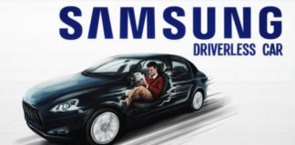 Samsung self-driving concept car
