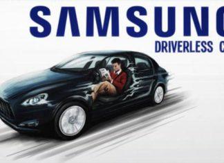 Samsung self-driving concept car