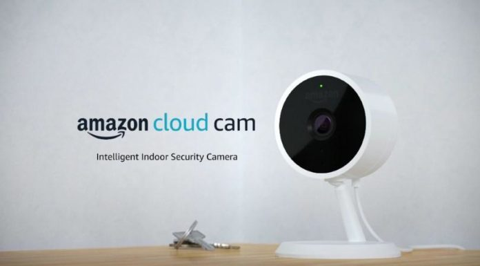 amazon cloud cam intelligent security camera