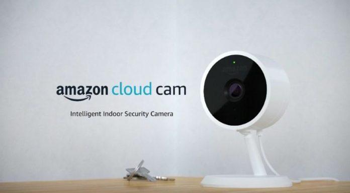 amazon cloud cam intelligent security camera