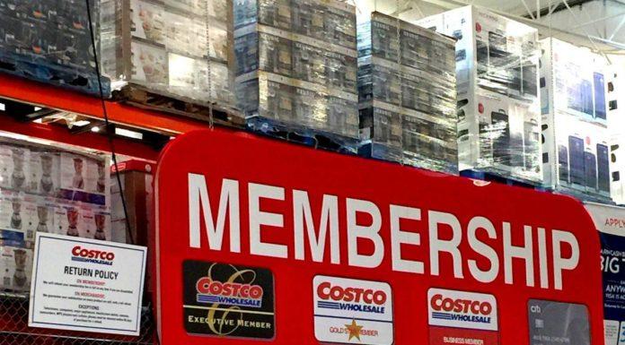 Costco membership renewal rate dip