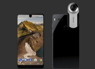 Essential Phone with 360 Camera