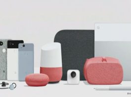 Google 2017 hardware products