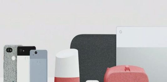 Google 2017 hardware products