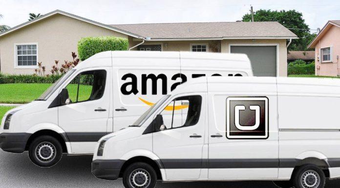 Amazon Uber Logistics disruption