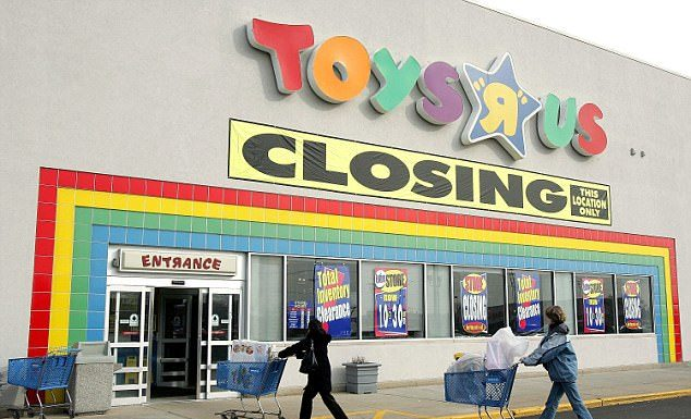 Toys R Us store closures