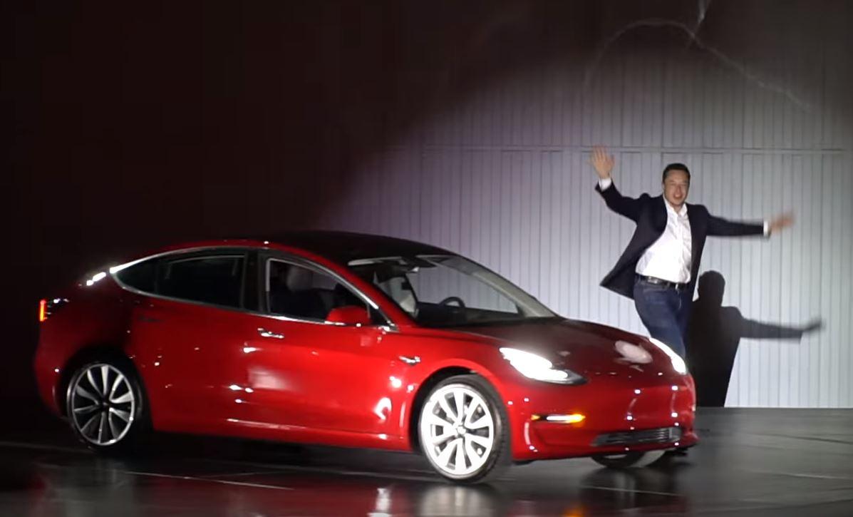 Tesla model 3 backlog