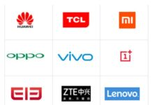 chinese mobile phone brands