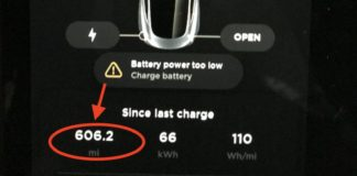 Model 3 hypermiling hypermile record 606.2 miles