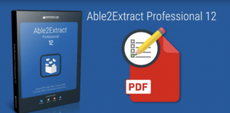 PDF Editor - Able2Extract Professional version 12