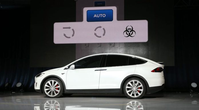 bioweapon defense mode on tesla model x