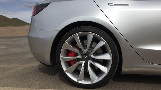 Model 3 brakes