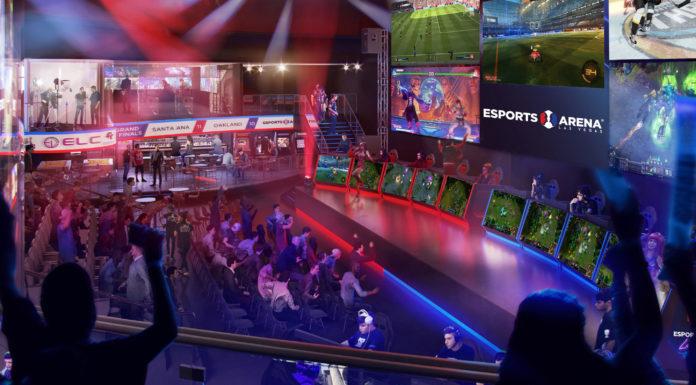 New eSports Arena at the Luxor, Las Vegas