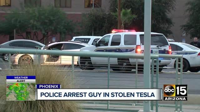 Tesla theft