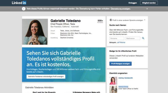 Tesla Chief People Officer Gabrielle Toledano