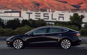 First Model 3