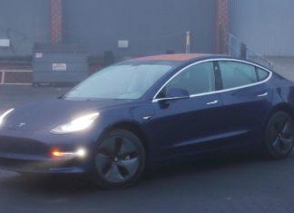 Model 3 in Europe