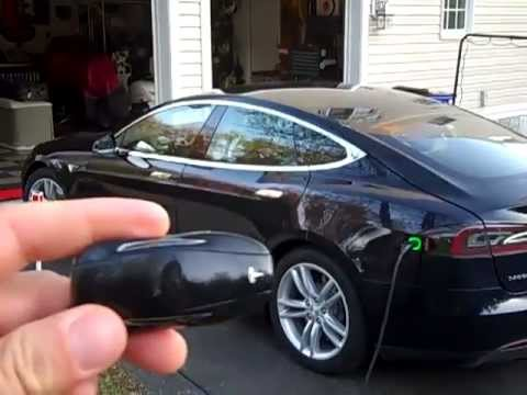 Model S Key Fob, Keyless Entry