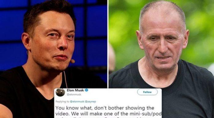 Elon Musk - Vernon Unsworth