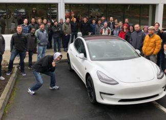Tesla France Paris Motor Show