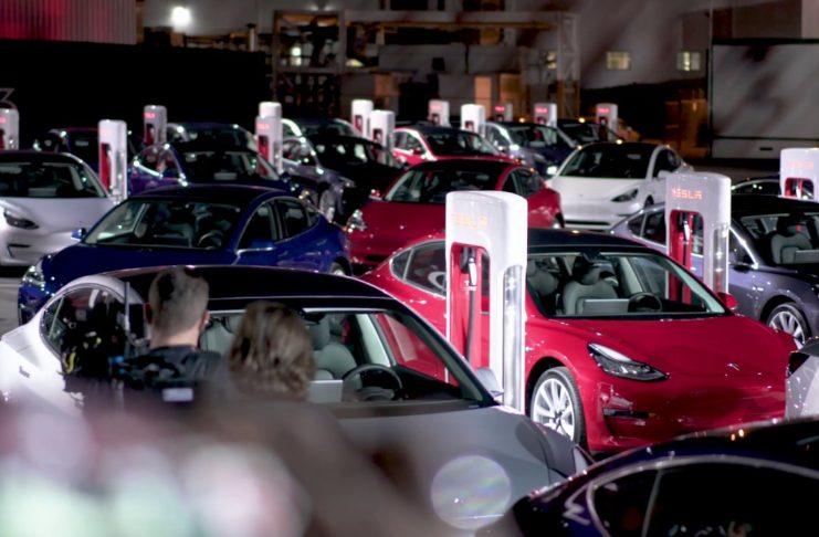 Tesla Model 3 Delivery Event Fremont California