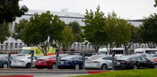 Tesla Model 3 deliveries special event at Tesla Fremont factory