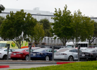 Tesla Model 3 deliveries special event at Tesla Fremont factory