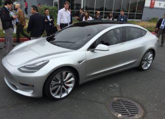 Used Tesla Model 3 demo car