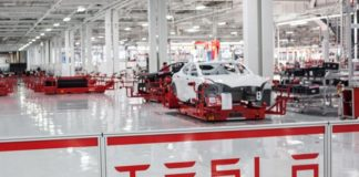 Tesla Model 3 Production - Fremont assembly line