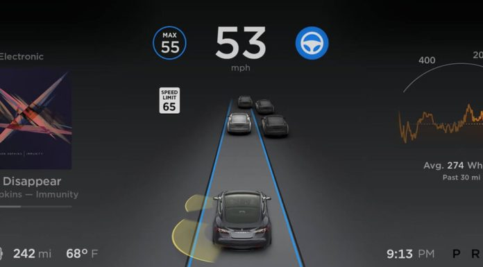 Tesla Software version 9